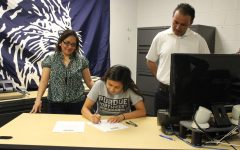 Senior athletes sign intent to play college sports