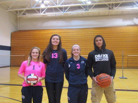 Athletes commit to their respective schools to play sports