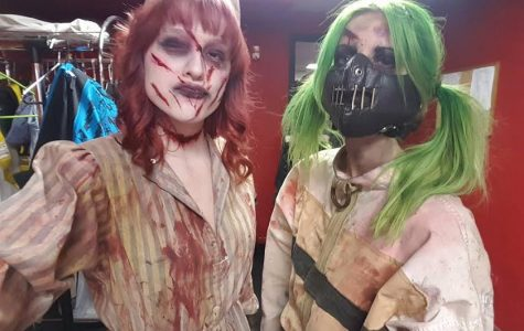 Local haunted house features a student actor with a passion for Halloween