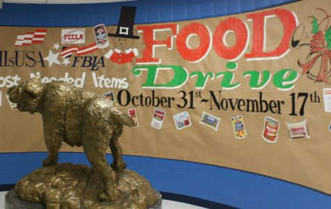 Clubs unite for annual food drive