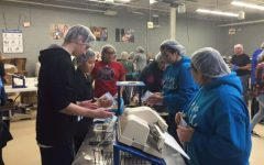 Clubs unify at Feed My Starving Children