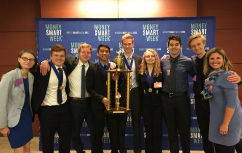 Economic students take first place at state, heading off to nationals