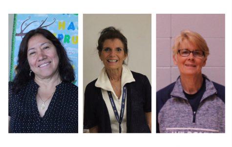 Retired teachers enjoy their last year of school