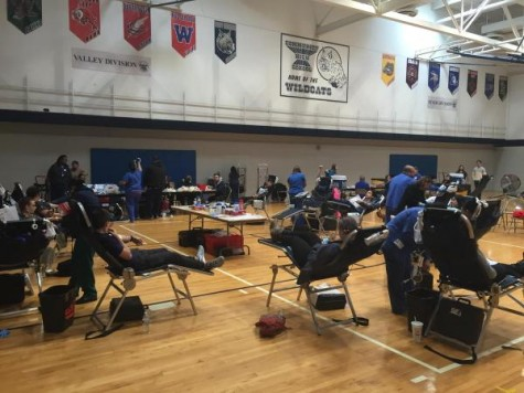 Students demonstrate willingness to give