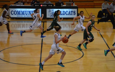 Girls basketball vs. St. Edwards
