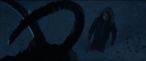 Taken from the movie's trailer courtesy of Universal Pictures, Max Engel (Emjay Anthony) comes face to face with the Christmas Devil himself.