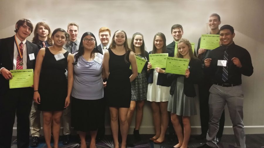 FBLA gives high schools students a chance to learn about and be a part of business oriented practices. Photo provided by Maria Wirth.