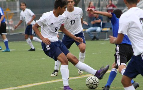 Soccer team scores big win during first homecoming game