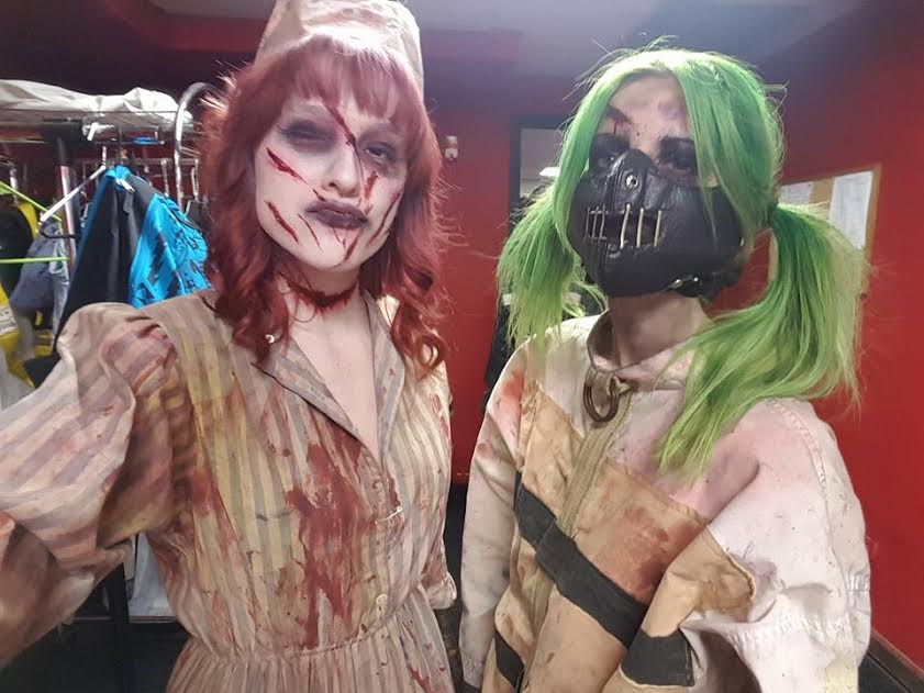 Image result for creepy haunted house actor