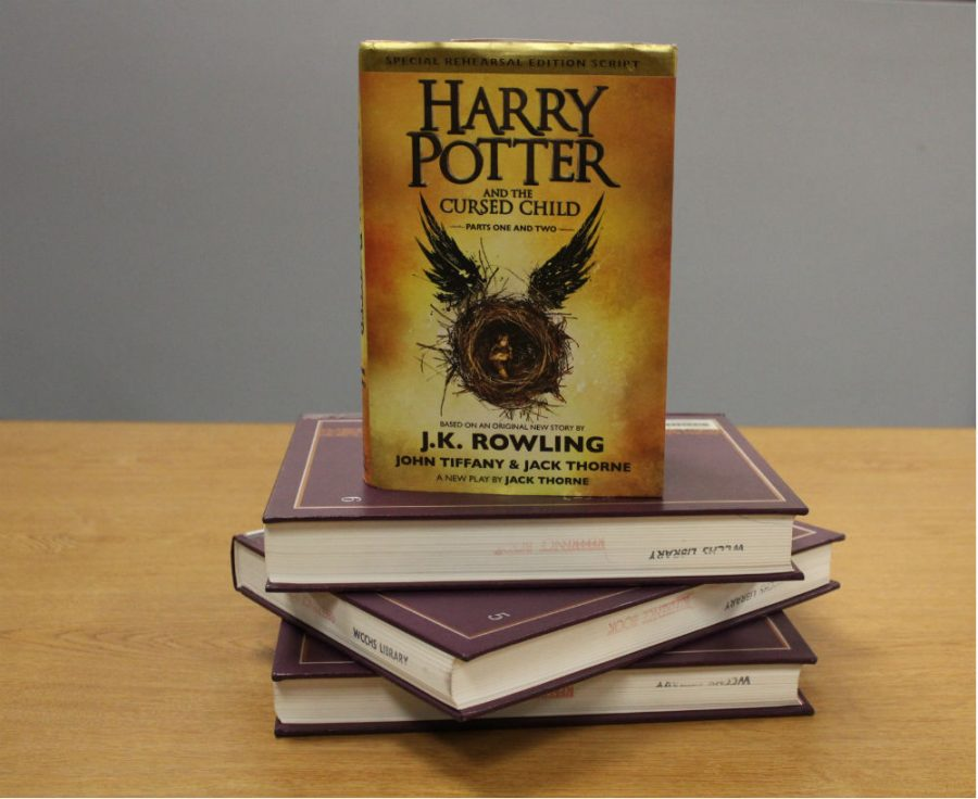 Book Club will read 'Harry Potter and the Cursed Child' by J.K. Rowling throughout December.