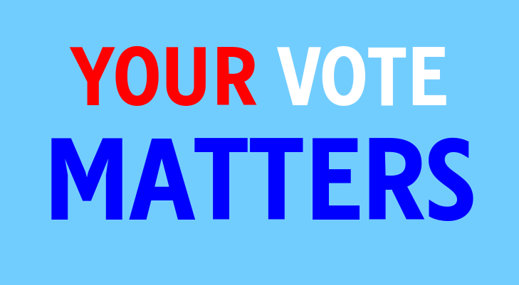 Your vote matters whether you live in a swing state or not. Voting is a basic right to all Americans and by doing so your voice gets heard, in more ways than one.