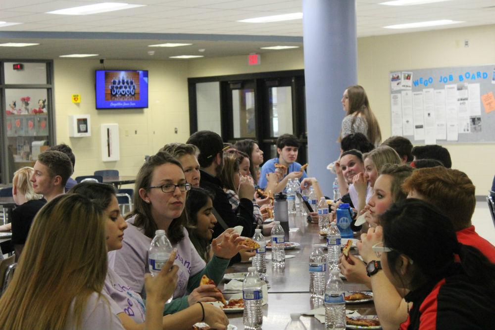 Over 75 students attended Snowball two years ago. The event did not take place last year due to contract issues with the Teachers' Association and Board of Education.