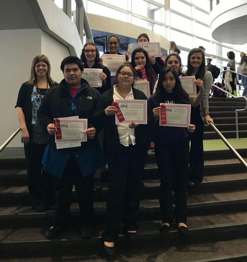 Competitors for FCCLA competed for regionals on Feb. 3. Many students placed in the top three and are preparing for state.