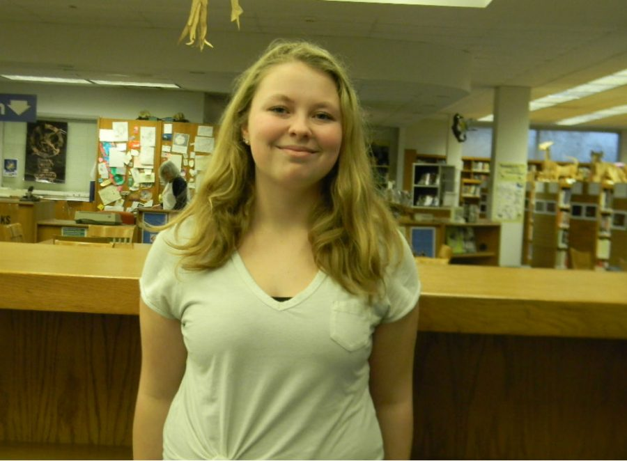 Junior Kelly Lynch made it to state for bowling on Friday. She is a first-time state qualifier.