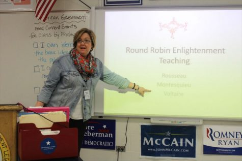 Civics educator wins state award for dedication to teaching