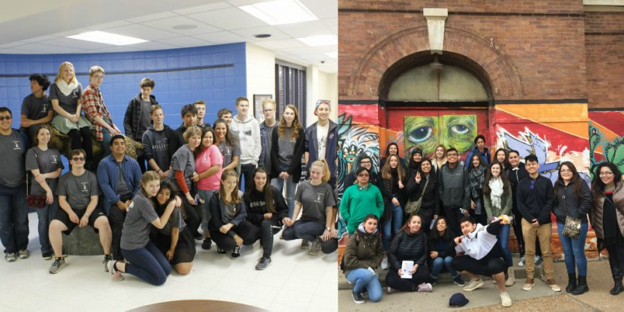German and French students came together for two weeks through the WeGo exchange program. The meeting was a coincidence.