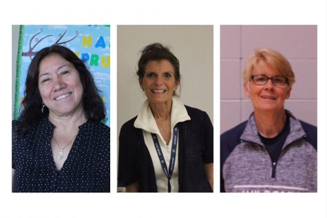 Retired teachers enjoy their last year of school