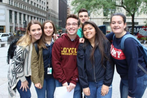 Foreign exchange students get a taste of America