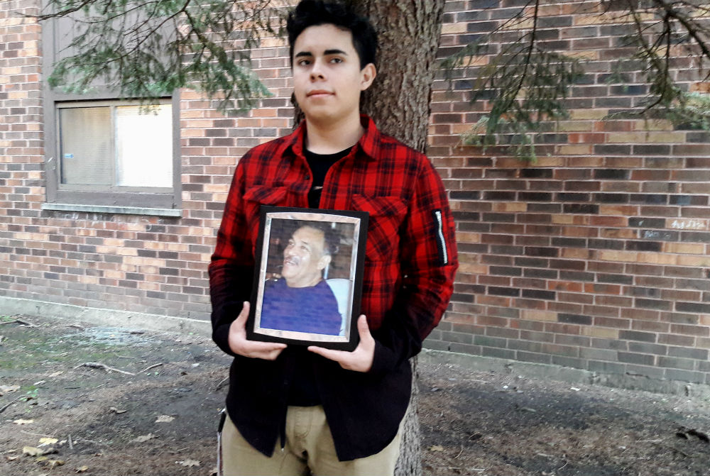 At the age of 16 senior Jovani Gonzalez lost his father. Gonzalez traveled to Texas to visit his father during his last moments.