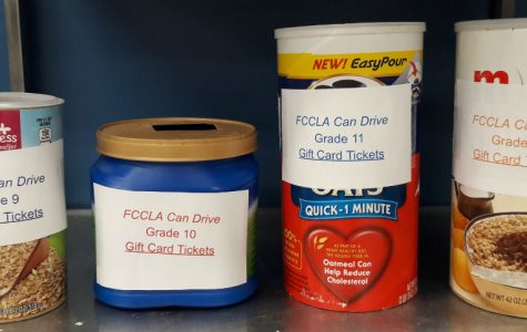 FCCLA holds can drive to aid people