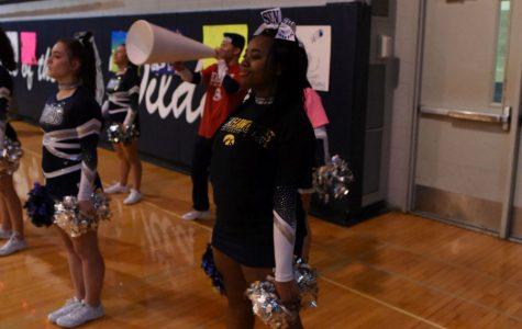 Senior enjoys last year as high school cheerleader