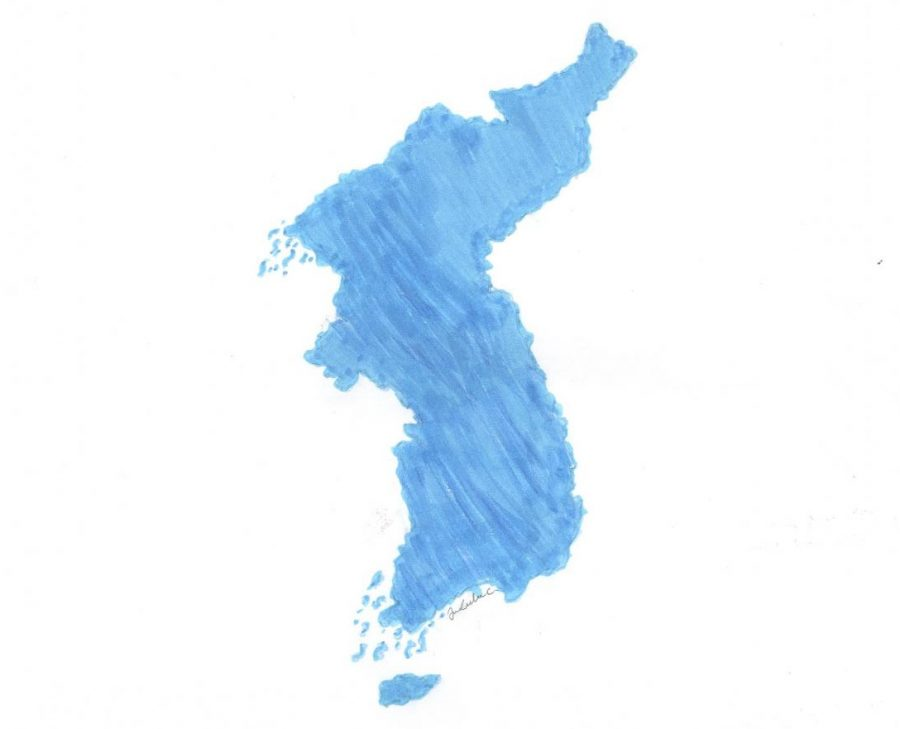 North+Korea+and+South+Korea+join+together+as+one+team+in+the+Winter+Olympics