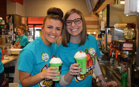 Teachers will work at McDonald's to make school greener