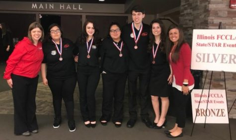 Sophomore Eleanor Rzeszut takes first place for FCCLA competition