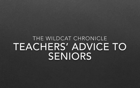 Teachers' advice to seniors