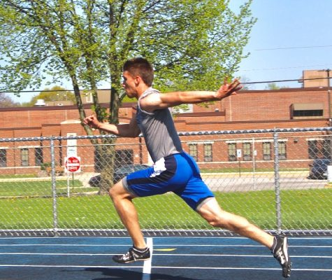 Building a legacy in track before leaving high school