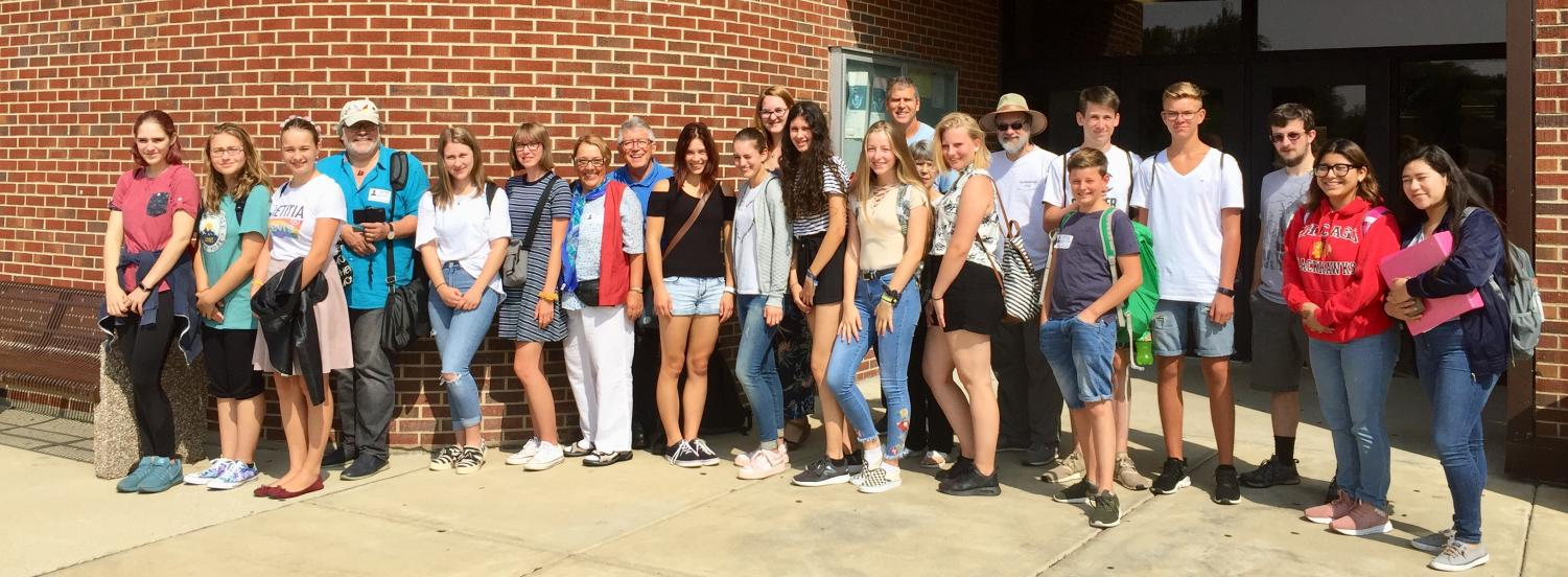 School unites German students with  West Chicago Sister Cities Club
