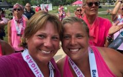 Teachers walk 60 miles to help fight breast cancer
