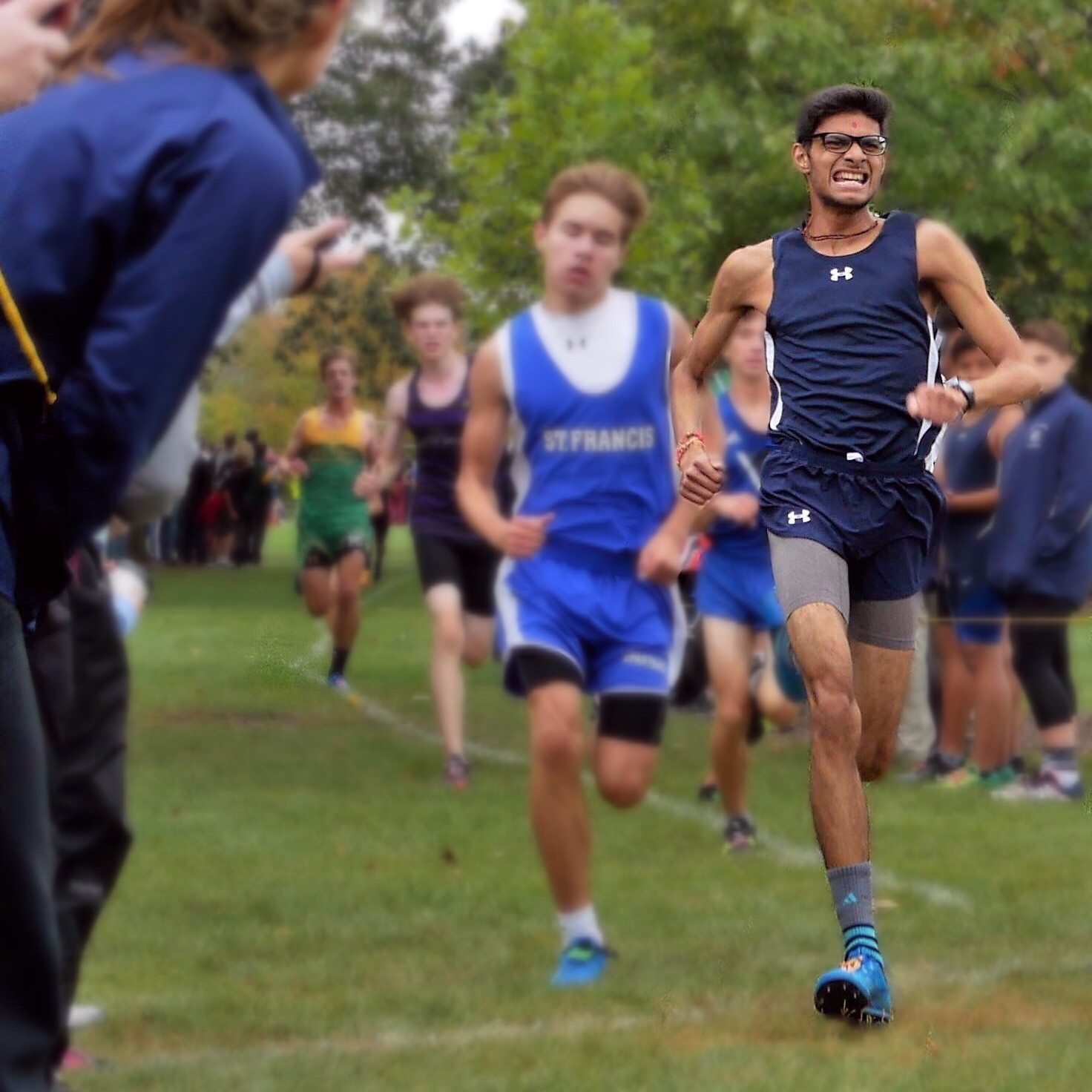 Senior Kamal Patel finished 40th out of 200 runners on Sept. 29 at Community Park, Lisle.