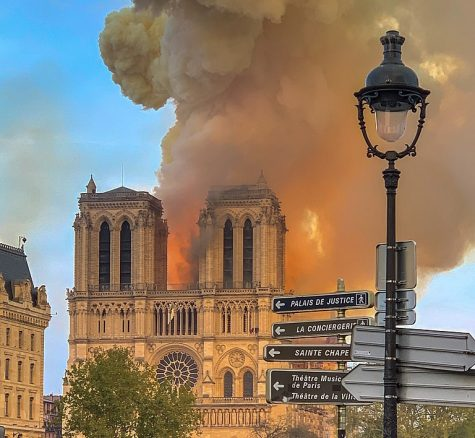 Notre Dame fire took the world's breath away