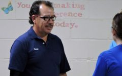 Custodian celebrates his 40th year with  Award of Excellence