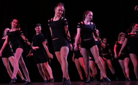 Dance production performs at the drama variety show on Oct. 17. Drama held the variety show as a way to earn money for the Edinburgh Fringe Festival in Edinburgh, Scotland.