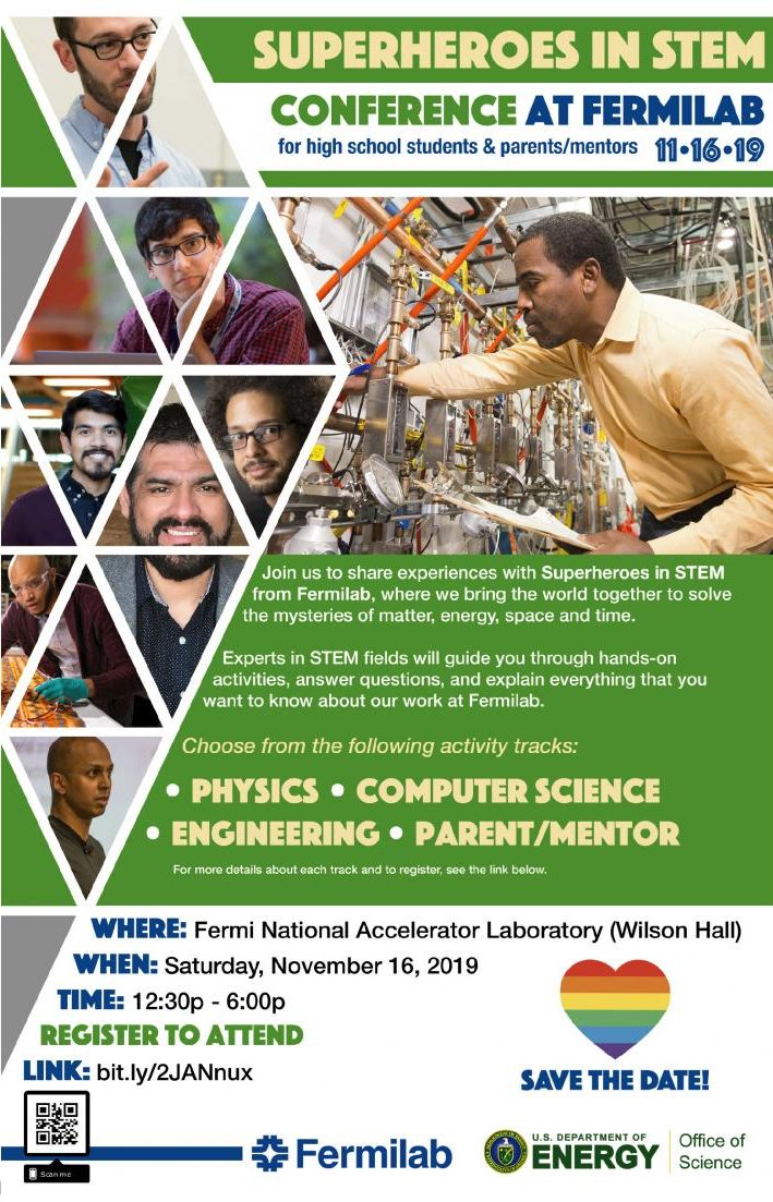 Fermilab offers free paid internship TARGET for sophomores and juniors interested in STEM in summer 2020.
