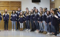 Choir and band perform for Veterans Day observance in West Chicago