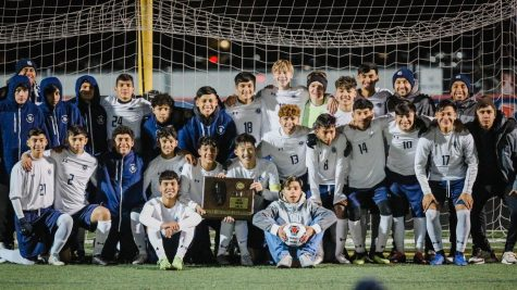 Boys varsity soccer defeated Jacobs at Conant High School with a 2-0 score and moves on to the state semi-finals on Friday.