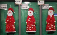 A way to give back during the holidays for staff members