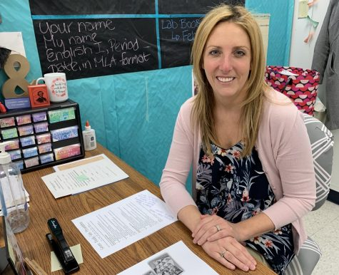 Language arts teacher Leslie Fireman recently became a national board certified teacher after working for over two years in the process.