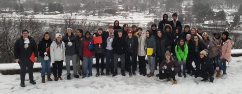 Students and staff got together for Snowball on Jan. 17-19 with a weekend full of games and food.