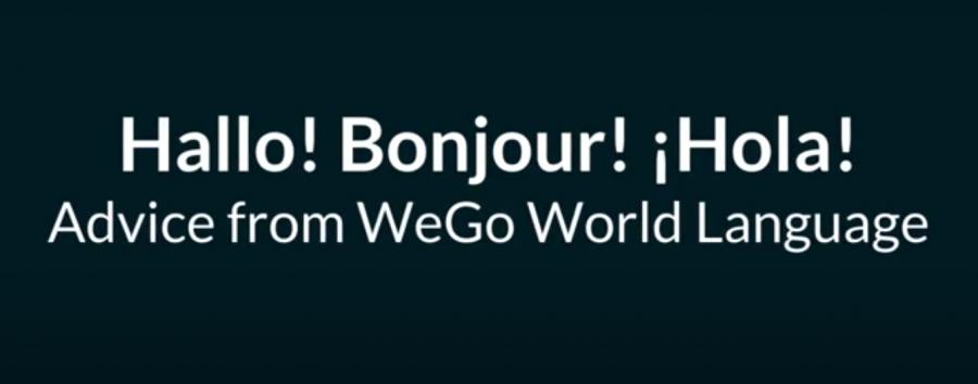 Advice from WeGo World Languages teachers