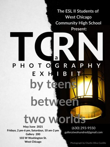 """ESL presents their photography exhibit """"TORN: A Photography Exhibit by Teens Between Two Worlds"""" at Gallery 200 on Fridays and Saturdays through June."""