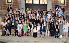 Navigation to Story: National Honor Society inducts 85 new members