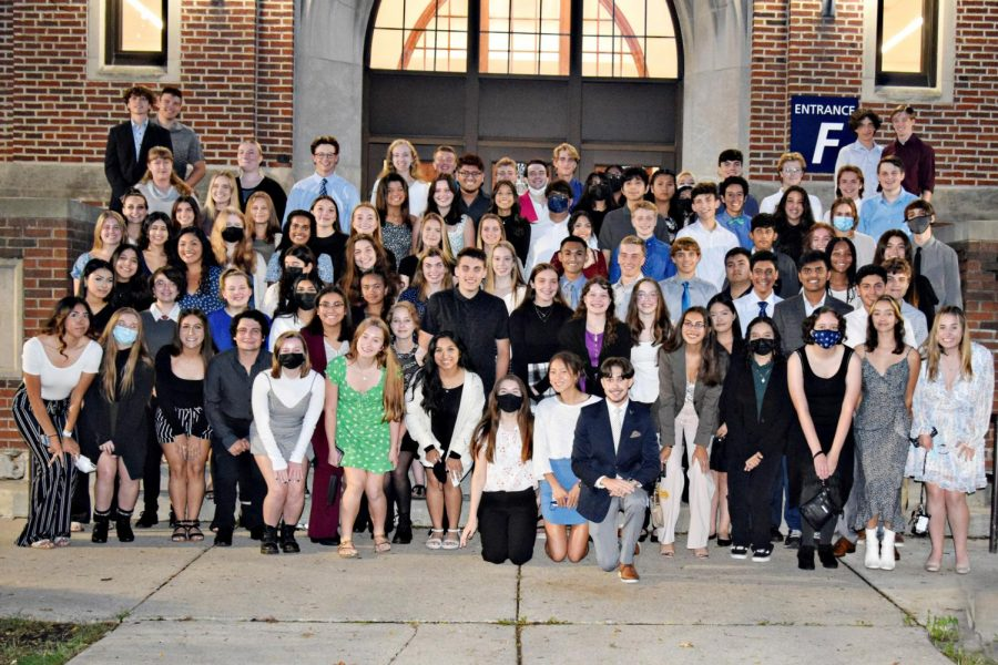 National Honor Society inducts 85 new members